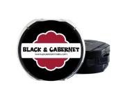 PSA Essentials 2-Colour Ink Pad, Black/Cabernet