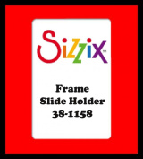 Sizzix Originals Cuts Frame, Slide Holder 38-1158 Designed by Lori Bergmann