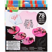 Scribbles Alpha Stamp Kit