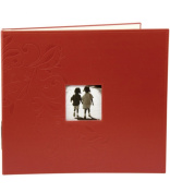 Making Memories - Embossed Leather 3Ring Album W/Window 30cm X 30cm