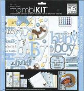 me & my BIG ideas 30cm by 30cm Scrapbook Page Kit, That.s My Boy