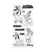 Disney(R) Clear Stamps - Mickey & Friends
