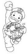 Once Upon A Time Cling Stamp 14cm x 9.5cm Package-Game On Edwin
