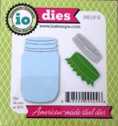 Impression Obsession io Steel Die # DIE137-E Mason Jar Die US American Made