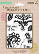 Hero Arts Rubber Stamps Sweet Threads Thank You Clear Stamp Set