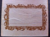 Victorian Border Frame with Flowers