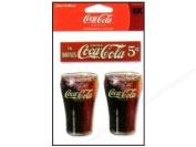 Coca Cola Coke Fountain Glasses Epoxy Scrapbook Stickers
