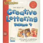 Creative Lettering Volume 4 Software, Win/Mac CD Rom