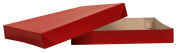 Premier Packaging AMZ-143002 10 Count Gloss Decorative Gift Box, 11.5 by 22cm by 3.8cm , Red