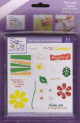 See D's Bee My Friend 19 Rubber Stamps + Case # 50006 Inque Boutique Sugarloaf