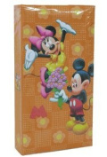 Disney Sweethearts Cling Orange Mickey and Minnie Large Photo Album