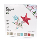 American Crafts 30cm by 30cm Patterned Paper Pack