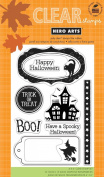 Spooky Halloween Clear Stamps