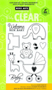 Hero Arts New Baby Clear Stamp Set