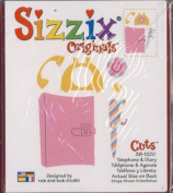Sizzix Originals TELEPHONE & DIARY Die RED