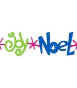 Ellison Sizzix Joy Noel Peace Christmas Border Strip Die Extended Cuts