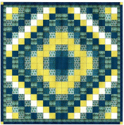 Easy Quilt Kit French Country Diamond