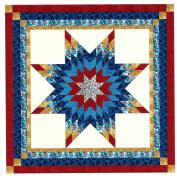 Easy Patriotic Lonestar Quilt Kit