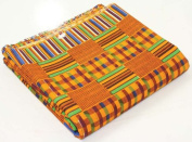 African Kente Print Fabric Pattern 1 - 12 Yards 110cm Wide