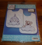 Tobin Stamped Cross Stitch Kit - Girl Baby Buggy
