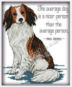 Happy Forever Cross Stitch,The animals, Handsome dog