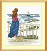 Happy Forever Cross Stitch,The scenery, Look out the sea