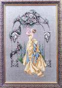 The Rose of Sharon, - Cross Stitch Pattern