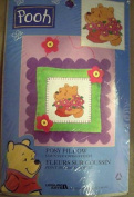 Posy Pillow Counted Cross Stitch Pillow Kit