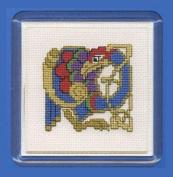 Textile Heritage Coaster Kit - Celtic Bird