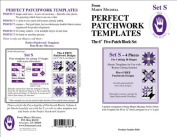 The Perfect Patchwork 15cm Five Patch Blocks Set S