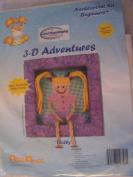 Dolly 3-D Adventures Needlepoint Kit