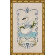 Seven Swans a Swimming Cross Stitch Pattern