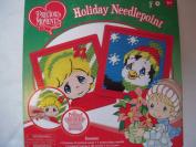Precious Moments Holiday Needlepoint Kit
