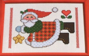 Janlynn Collector's Series Christmas Delights Counted Cross Stitch Kit #41-107 Star Santa Designed by Maryanne Moreck