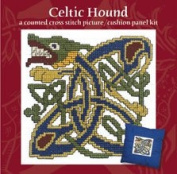 Celtic Hound Picture Cushion Panel Cross Stitch Kit