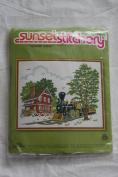 """Vintage 1979 Sunset Stitchery """"Country Depot """" Kit - Designed by Barbara Jennings"""