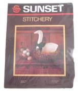 Sunset Stitchery Country Goose Needlecraft