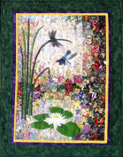 Whims Watercolour Quilt Kits Dragonflies and Lilypads Quilting Supplies