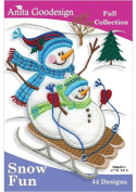 Anita Goodesign Embroidery Designs Cd Snow FUN