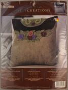 Pansy, Felt Decorative Pillow
