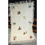 MCG Textiles Disney Dreams Blanket Collection, Baby Afghan 29x45