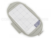 Extra Large Embroidery Hoop - 15cm x 25cm - SA441 Replacement - for Brother Innov-is 4000D 5000 500D 2200 2500D 2800D 1500 1500D 2200D Quattro Ellegante Ellisimo - Jumbo Hoop - Generic SA441 EF81 Replacement