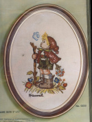 Vintage 1975 Paragon Needlecraft Exquisite Hummel Stitchery Inspired by the Enchanting Paintings by Sister Berta Hummel Which Is Captured the Hearts of Young and Old around the World Peasant Boy