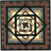 Tumbling Star Nuetral Quilt Kit