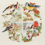 Anchor birds and seasons - cross stitch kit