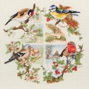 Anchor birds and seasons - cross stitch kit