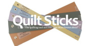 Quiltsticks Starter Kit - quilt stick sticks quiltstick Rotary Cut fabric safe efficient 7 templates ruler guide