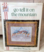 Go Tell It on the Mountain Counted Cross Stitch Kit