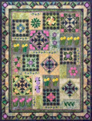 Feels Like Spring Machine Embroidery Quilt Pattern and Cd By Smith Street Designs