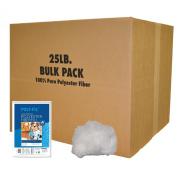 Fairfield 25-Pound Poly-Fil Premium Polyester Fibre, White
